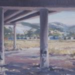Cantera desde debajo del puente - 40x75cm